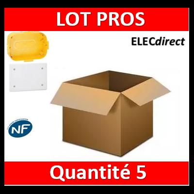 Legrand Batibox - Boîte pour dérivation 230x170x50 - 089375x5