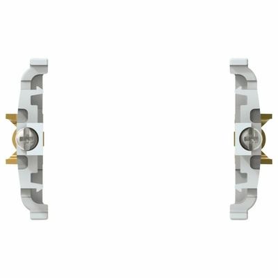 Adaptateur encastré étanche IK08 Plexo - gris - 069647