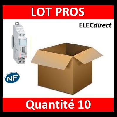Legrand - Télérupteur CX3 - VIS - Bipolaire 16A - 230V - 412412x10