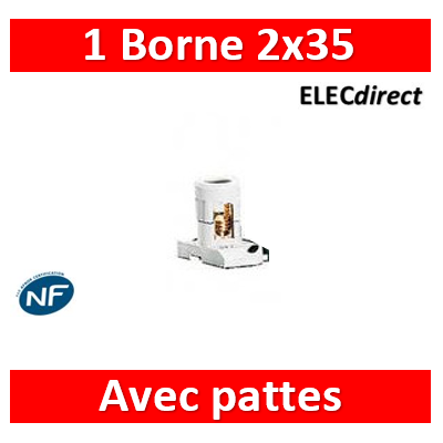 Legrand - bornes  2 x 35 mm2 - 034004