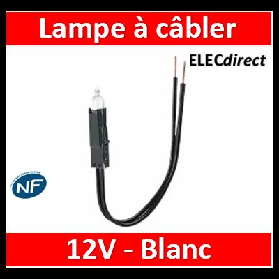Lampes à câbler 12 V - incandescent blanc - consommation 0,4 W - 089901