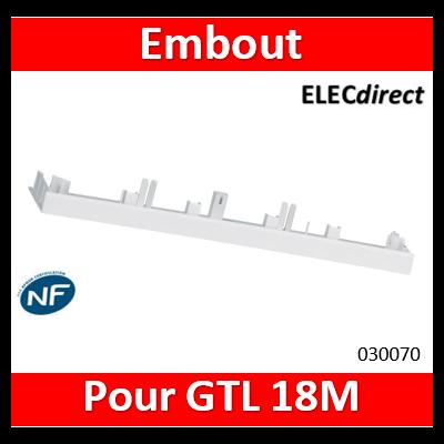 Legrand - Embout d'extrémité pour goulotte GTL DRIVIA 18M - 030070