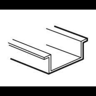Rail symétrique profondeur 15mm et longueur 480mm pour boîtier industriel métal Atlantic largeur 500mm - 036794