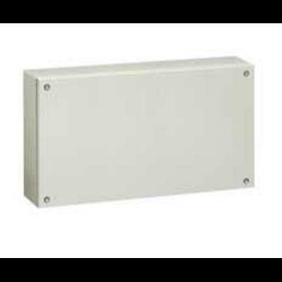 Boîtier industriel Atlantic métal rectangulaire IP66 IK10 - 300x500x120mm - RAL7035 - 035615