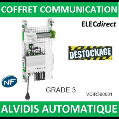 SCHNEIDER - LexCom Home Pack Performance ALVIDIS Automatique Grade 3 - VDIR590001