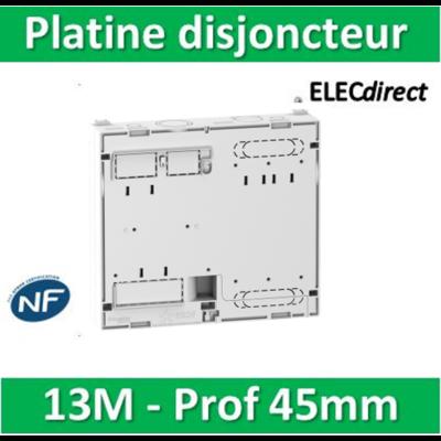 Schneider - Platine pour Disjoncteur branchement Seul - Mono / TRI - prof. 45mm - R9H13206