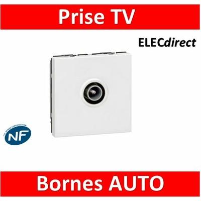 Legrand Mosaic - Prise TV simple - Mâle - 078782