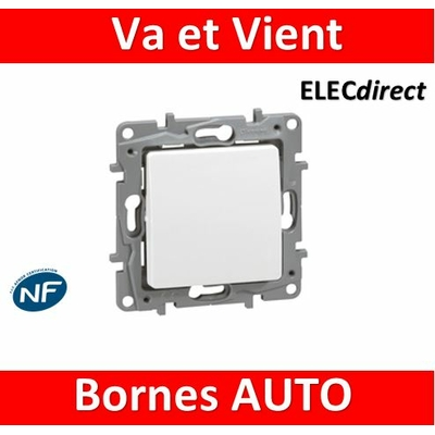 Legrand Niloé - Va et Vient 10A Blanc - 664701