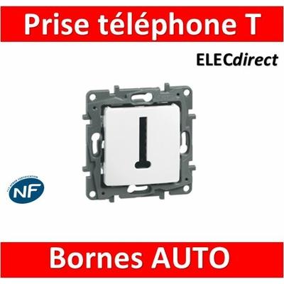 Legrand Niloé - Prise Téléphone T Blanc - 664768
