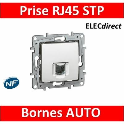 Legrand Niloé - Prise RJ45 cat 6 STP Blanc - 664775