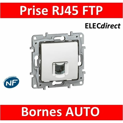 Legrand Niloé - Prise RJ45 cat 6 FTP Blanc - 664777