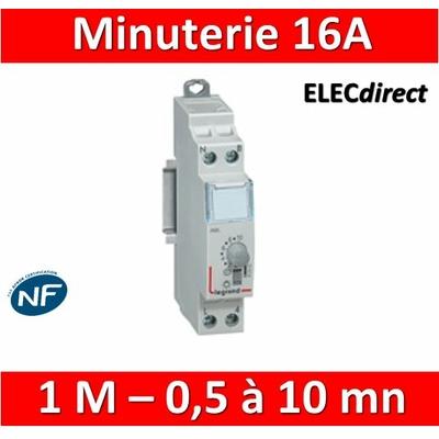 Legrand - Minuterie électronique 16A - 230V - 412602