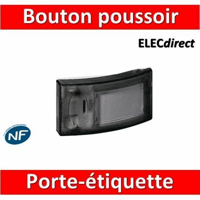 Legrand - Bouton poussoir porte-étiquette - 041645
