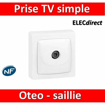 Legrand Oteo - Prise TV simple - 086040