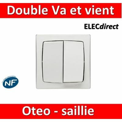 Legrand Oteo - Double Va-et-Vient 10A - 230V - 086020