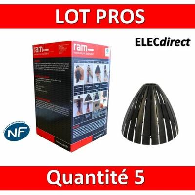 Ramspot - Boîte de 5 Protecteurs de spot pour laine soufflée - 59205 x5