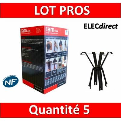 Ramspot - Boîte de 5 Protecteurs de spot pour laine de verre ou de roche en rouleau - 59202 x5