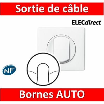 Legrand Céliane - Sortie de câble complet blanc 1 poste