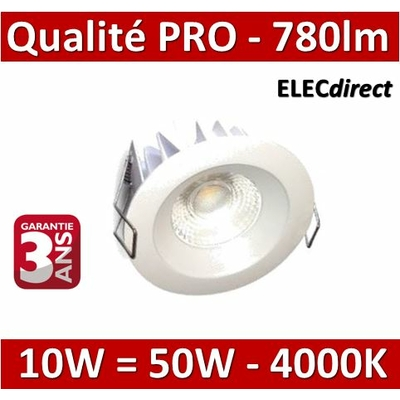 Lited - Spot LED 10W MonoLED - 4000K - 780lm