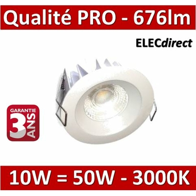 Lited - Spot LED 10W MonoLED - 3000K - 676lm