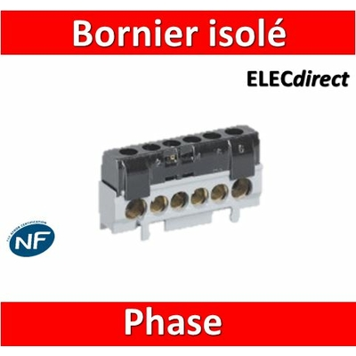 Legrand - Bornier isolé Phase -  004816