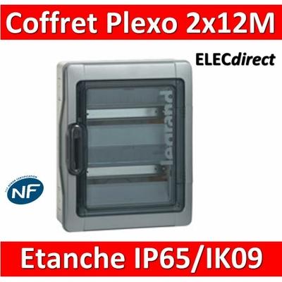 Legrand - Coffret étanche Plexo 24 modules - 2 rangées - IP65/IK09 - 001922