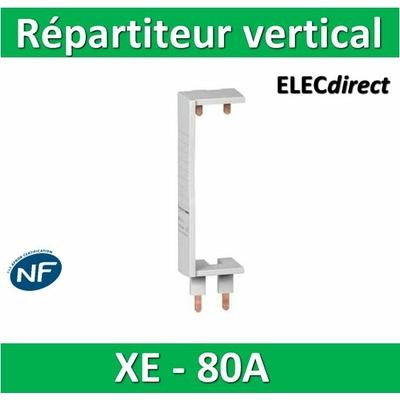Schneider - Répartiteur vertical XE ou XP - pour coffret Resi 9 - 14910