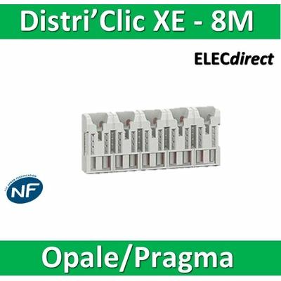 Schneider - Répartiteur Distri'clic XE 16pas 8 M sans connecteur - 16181