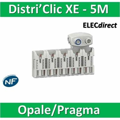 Schneider - Répartiteur Distri'clic XE 10pas 5 M avec connecteur - 16170