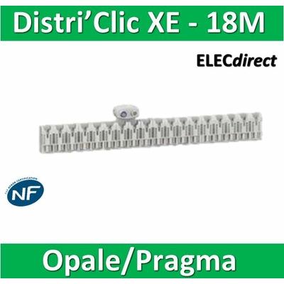 Schneider - Répartiteur Distri'clic XE 36pas 18 M avec connecteur - 16173