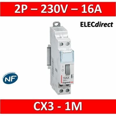 Legrand - Télérupteur CX3 - VIS - Bipolaire 16A - 230V - 412412