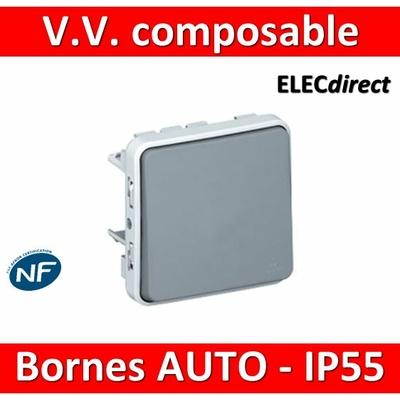 Legrand Plexo - Va-et-Vient composable 10A - 230V - IP55/IK07- 069511