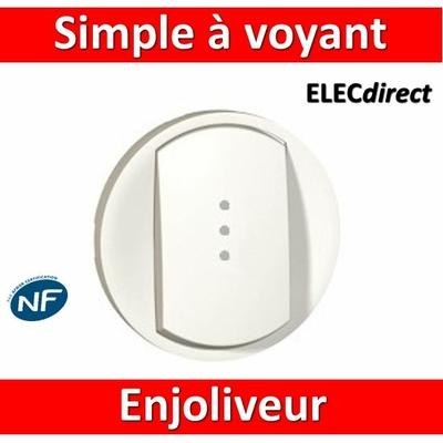 Legrand Céliane - Enjoliveur simple allumage voyant blanc - 068003