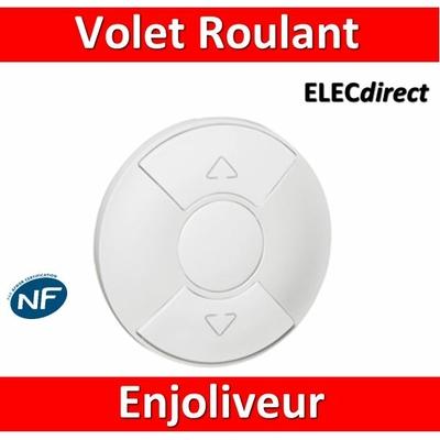 Legrand Céliane - Enjoliveur blanc Volets Roulants - 068151