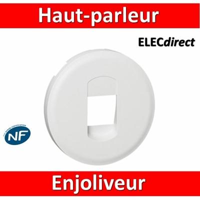 Legrand Céliane - Enjoliveur Prise Haut-parleur blanc - 068211