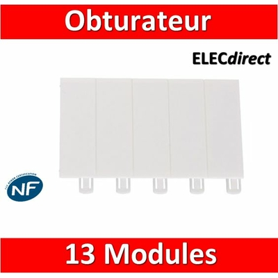 Legrand - Obturateur 13 modules - 001662