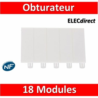 Legrand - Obturateur 18 modules - 001664
