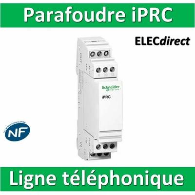 Schneider - Parafoudre pour lignes téléphoniques iPRC NF - A9L16337