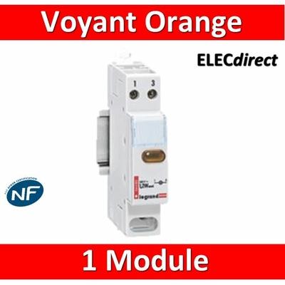 Legrand - Voyant Orange 250V - 004485 - ancien modèle
