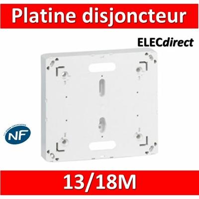 Legrand - Platine pour Disjoncteur branchement Seul - DRIVIA 13M et 18M - 401191