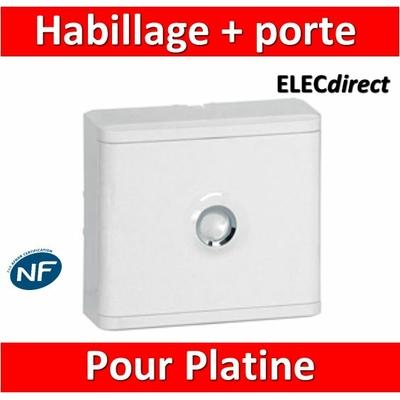 Legrand - Habillage + porte pour platine de branchement - 401185