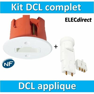 SIB - Kit sortie d'applique DCL + douille (mural) - 25449