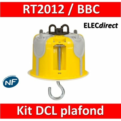 Legrand Batibox - Kit point de centre DCL BBC - 089377