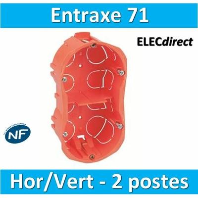 SIB - Boîte double entraxe 71 H/V - 12971
