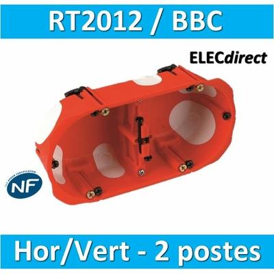 SIB - Boîte double BBC entraxe 71 mm - 32971