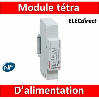 Legrand - Module de raccordement tétrapolaire - 406298