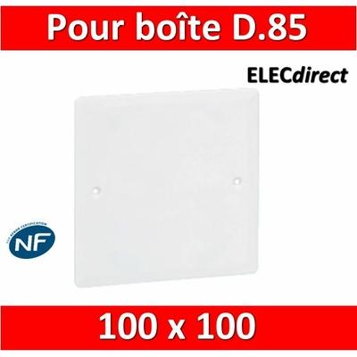 Legrand Batibox - Couvercle universel 100 x 100 - pour boîte D85mm - 089285