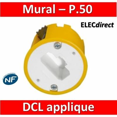 Legrand Batibox - Boîte luminaires pour applique - Prof. 50 - 089305