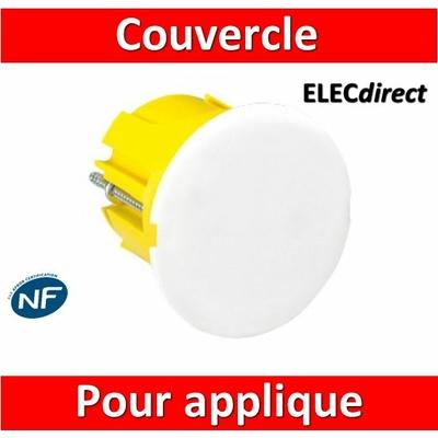 Legrand Batibox - Boîte luminaire - couvercle de finition - pour applique - 089346