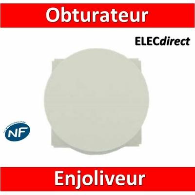 Legrand Céliane - Enjoliveur Obturateur blanc - 068143